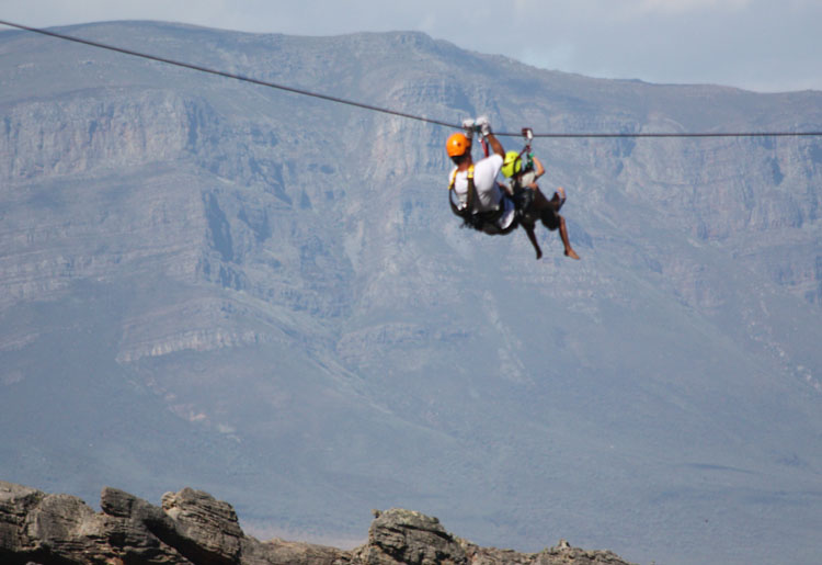 Wolseley things to do Ceres Zipslide